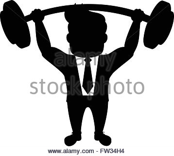 358x320 Confident Man With Muscles, Strong Man With Muscles Silhouette