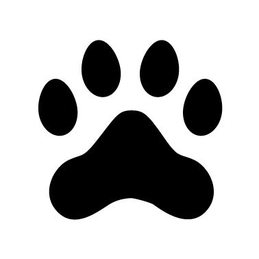 378x378 Pretty Klicks Free Paw Vector Branding Dog Paws