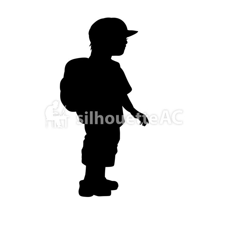 750x750 Free Silhouettes An Illustration, Kids