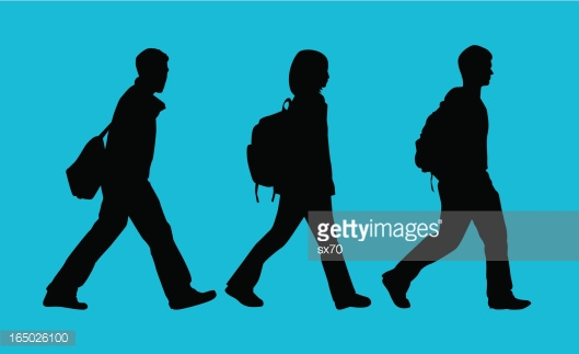 529x323 Free Student Silhouette Clipart
