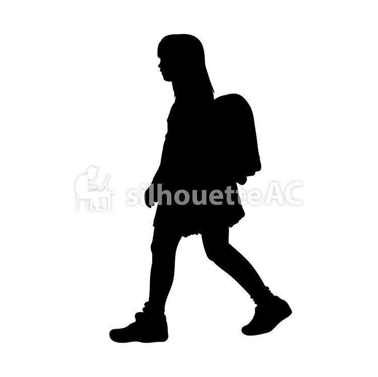 750x749 Free Silhouette Vector An Illustration, Kids