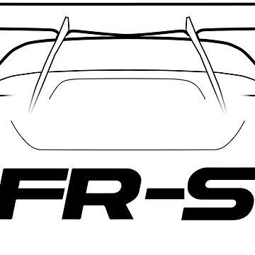 360x360 Subaru Brz Silhouette