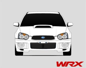 340x270 Subaru Decal Custom Vinyl Forest Silhouette Graphic Door