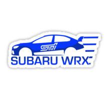 220x200 Subaru Wrx Sti Stickers By Cameron Burke Redbubble