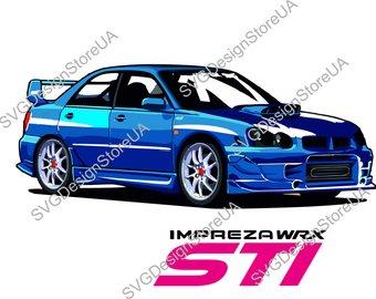 Subaru Silhouette At Getdrawingscom Free For Personal Use Subaru