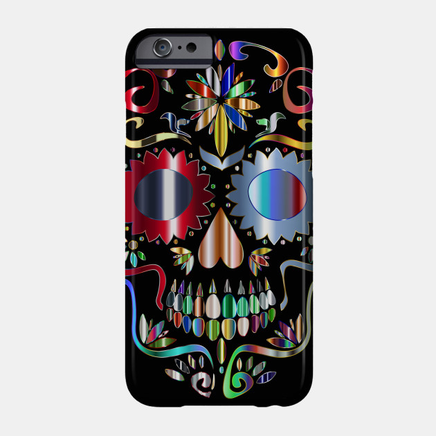 630x630 Limited Edition. Exclusive Prismatic Sugar Skull Silhouette 5