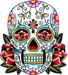 236x260 Sugar Skull Clipart Sugar Skull Silhouette