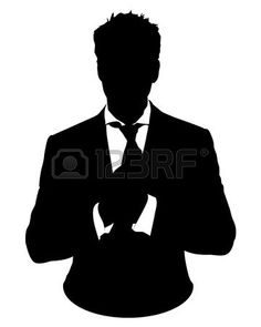 Suit And Tie Silhouette