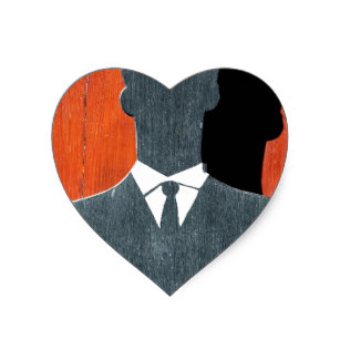 307x307 Tuxedo Suit Stickers Zazzle