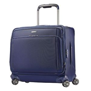 300x300 Samsonite Silhouette Xv Luggage Spinner Blue Suitcase Medium
