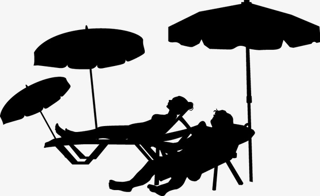 650x398 Summer Sun Silhouette, Great, Sketch, Sunbathe Png And Vector