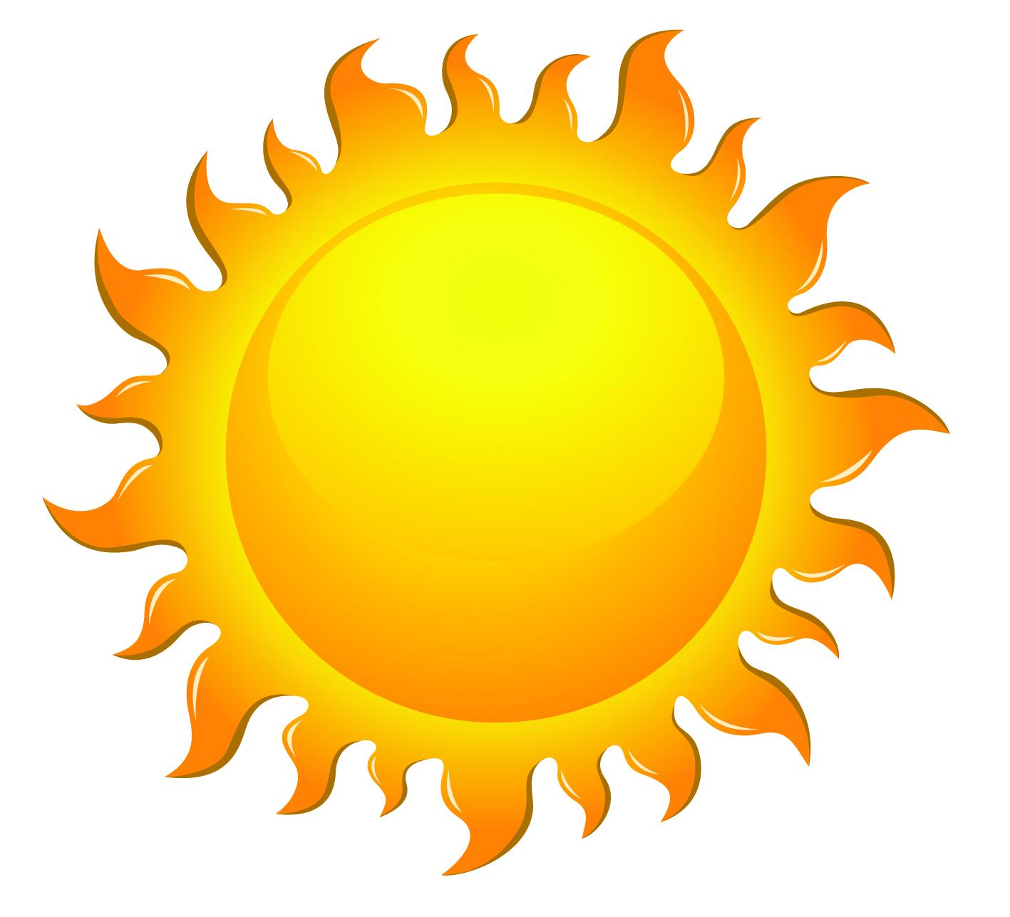 1417x1287 Sun Silhouette Clipart