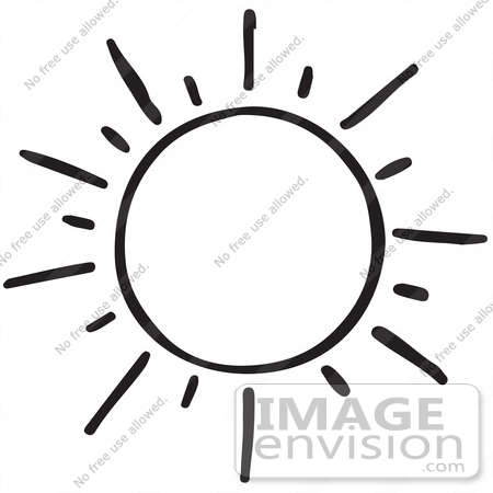 450x450 Sun Silhouette Clipart Black And White
