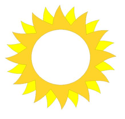 438x420 Sun Silhouette Studio 3 Craftisan Studios