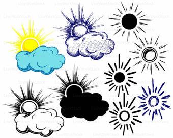 340x270 Cloud Silhouette Etsy