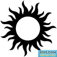 236x238 Free Svg Pdf Png Jpg Eps Sun Silhouette Sillouhette