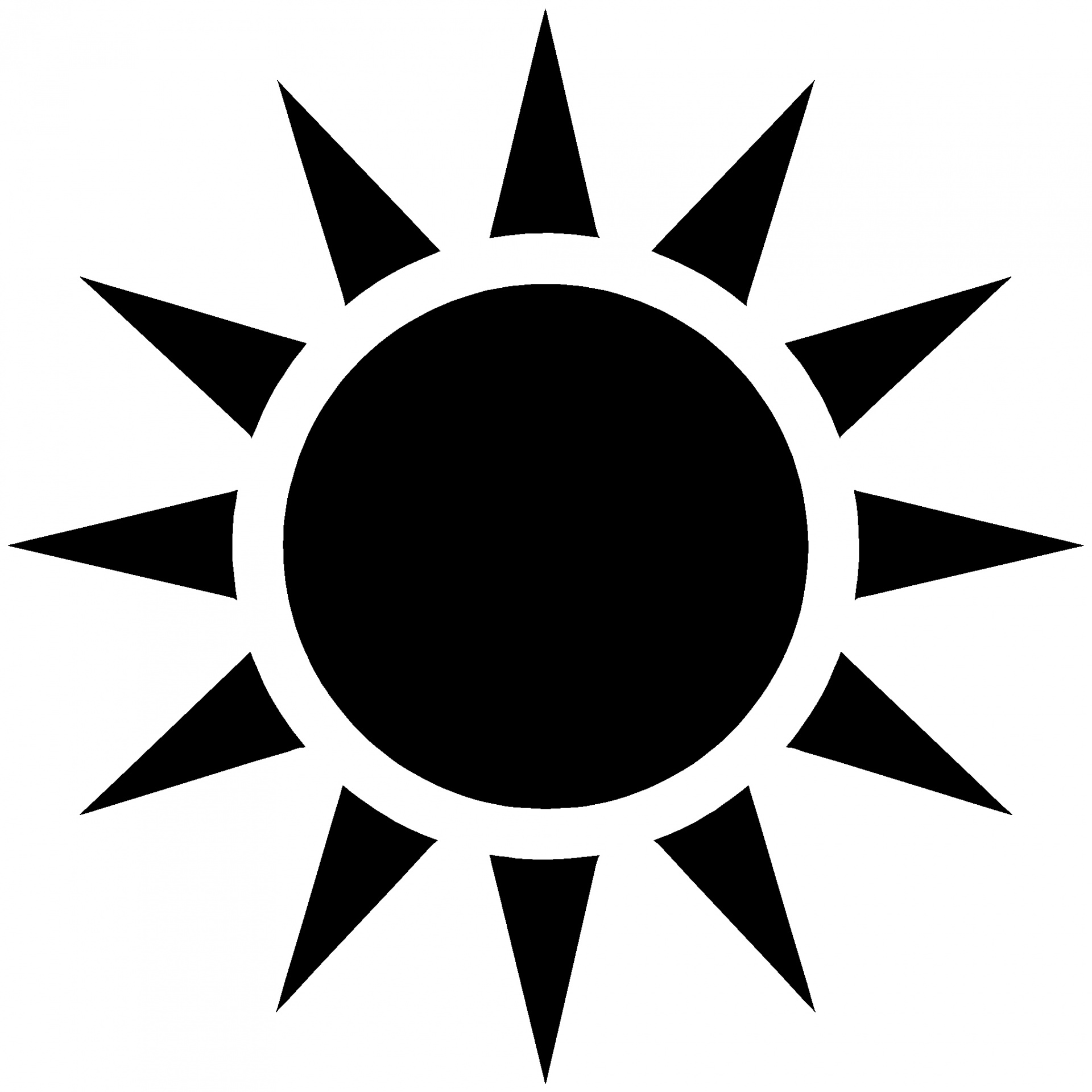 sun silhouette vector at getdrawings com free for personal use sun