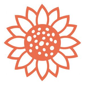 300x300 Sunflower Silhouette Design, Sunflowers And Silhouettes