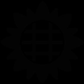 283x283 Sunflower Silhouette Silhouette Of Sunflower