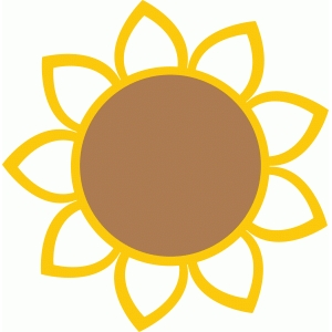 300x300 Sunflower Tag Silhouette Design, Sunflowers And Silhouettes