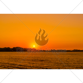 325x325 Countryside Landscape With A Beautiful Sunrise Gl Stock Images