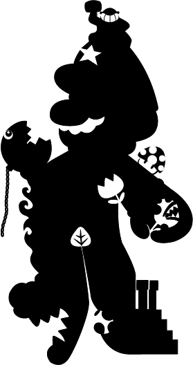 279x528 Mario Silhouette By Endwhereibegin