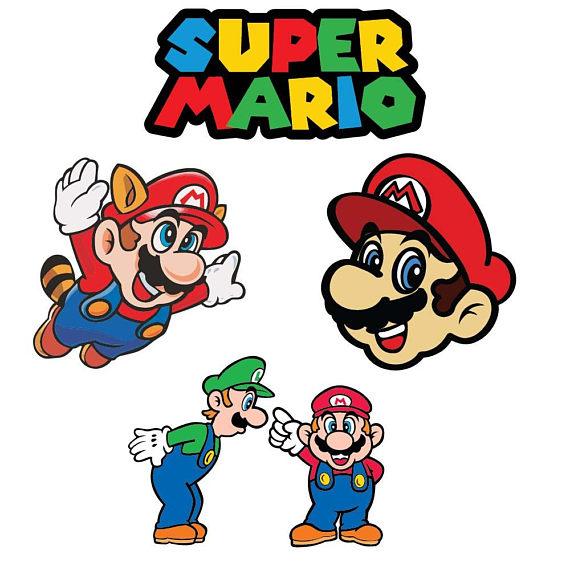 570x570 Mario Svg, Videogame Super Mario Svg, Dxf, Eps, Files For Cricut