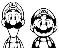 236x195 Stencils Mario Bros, Stenciling And Super Mario Bros