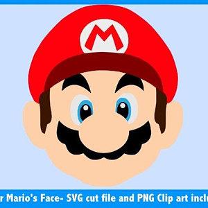 300x300 Super Mario Bros Svg Etsy