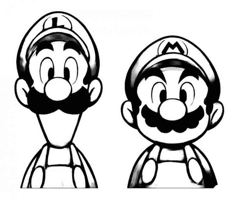 780x655 Mario Ausmalbilder Ausmalbilder Silhouettes