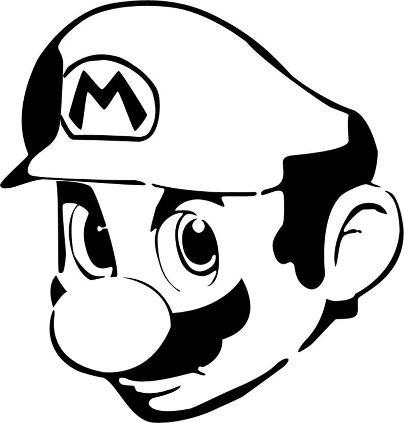 super mario silhouette at getdrawings com free for personal use