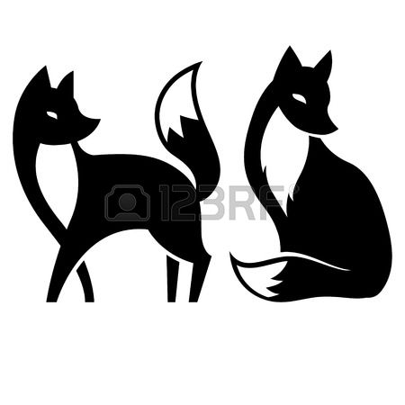 450x450 Super Fox Silhouette Clip Art 4 685 Stock Illustrations Cliparts