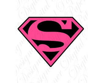photograph regarding Supergirl Logo Printable identify Supergirl Silhouette at  Free of charge for particular person