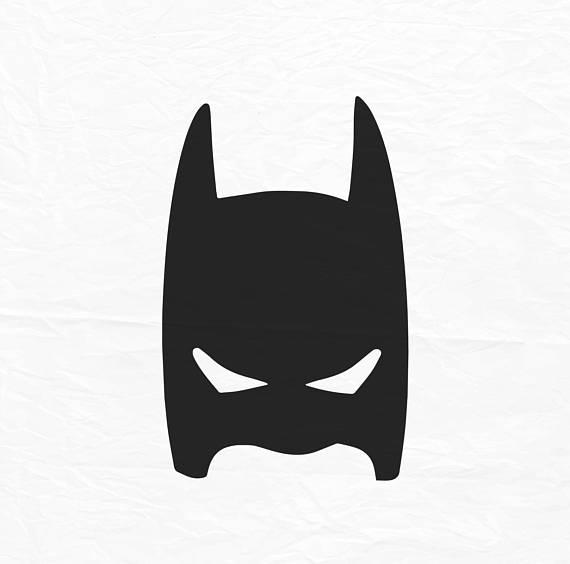 Superhero Mask Silhouette
