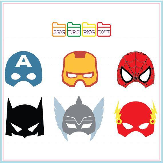 570x570 Superhero Svg,mask,captain America,ironman,spiderman,batman,the