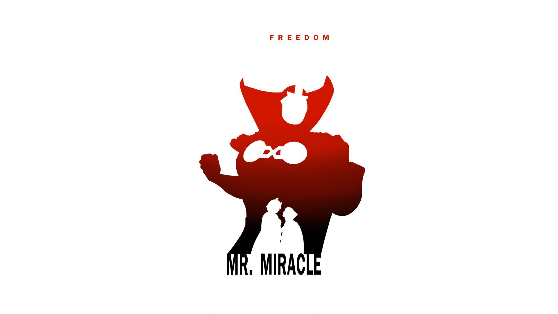 1920x1080 Mr. Miracle By Stevegarciaart Comic Book
