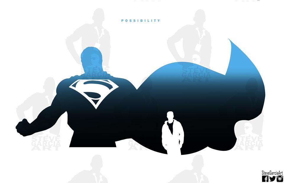 960x621 Super Silhouettes Art Series By Steve Garcia Superhero