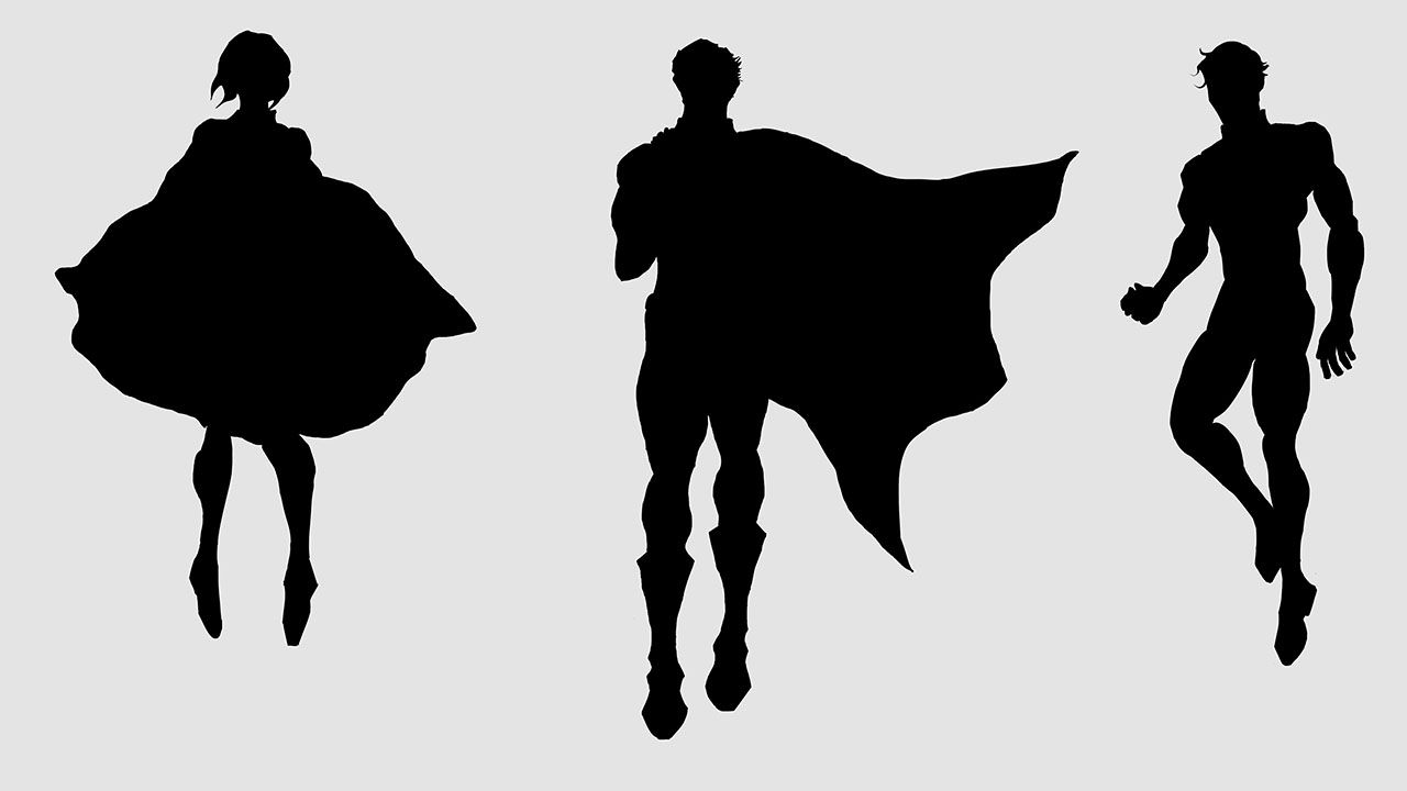 1280x720 36 Awesome Superman Silhouette Clip Art Incredibles Vbs