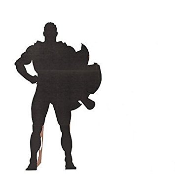 355x355 Superhero Silhouette Stand Up Kitchen Amp Dining
