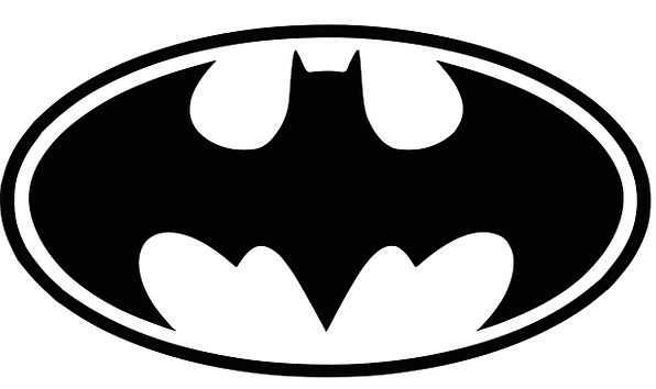 596x354 Batman, Champion, Hero, Superman, Superhero, Silhouette, Bat