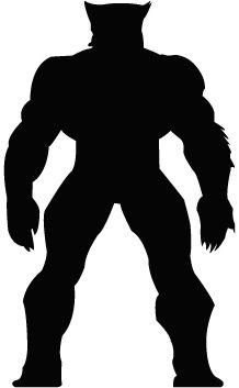 218x353 Hulk Silhouette Super Shadows Silhouettes, Cricut