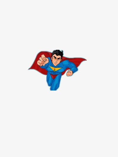 400x533 Superman Flying Man, Blue, Red, Justice Png Image And Clipart