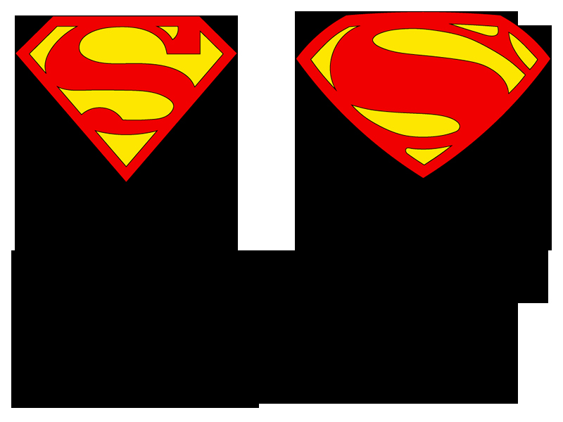800x600 Design Superman Logo Best Superman Silhouette