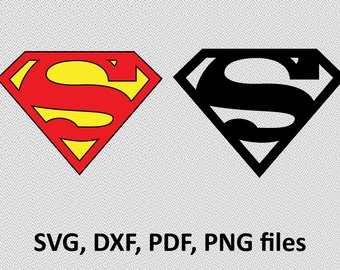 340x270 Superman Logo Svg Etsy