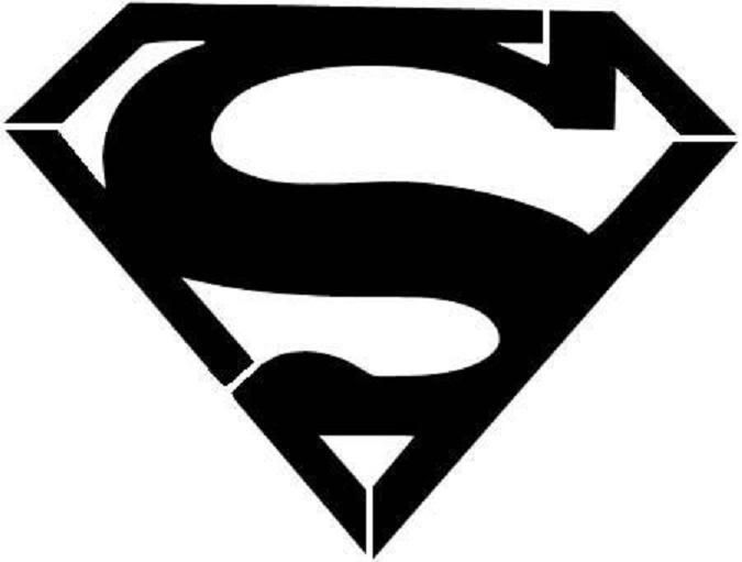 675x511 14 Superman Logo Silhouette Free Cliparts That You Can Download