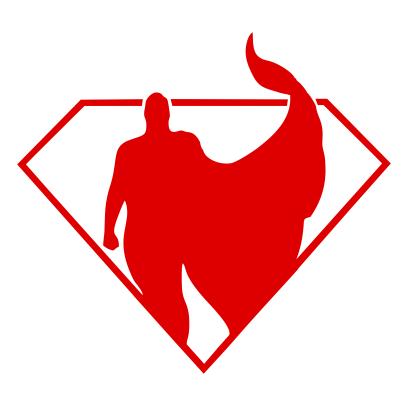 407x407 Superman Silhouette Qcumber