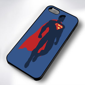 300x300 Superman Silhouette Black Phone Case Cover Fits Iphone 4 5 6 7