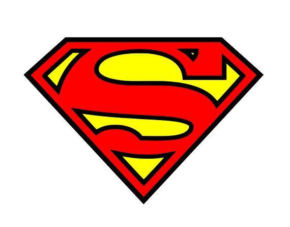 570x446 Superman Svg Superhero Svg Superman Sign Cricut Silhouette Svg