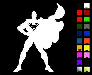 300x243 Superman Silhouette Vinyl Decal Sticker