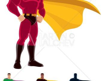 340x270 Superman Silhouette Etsy